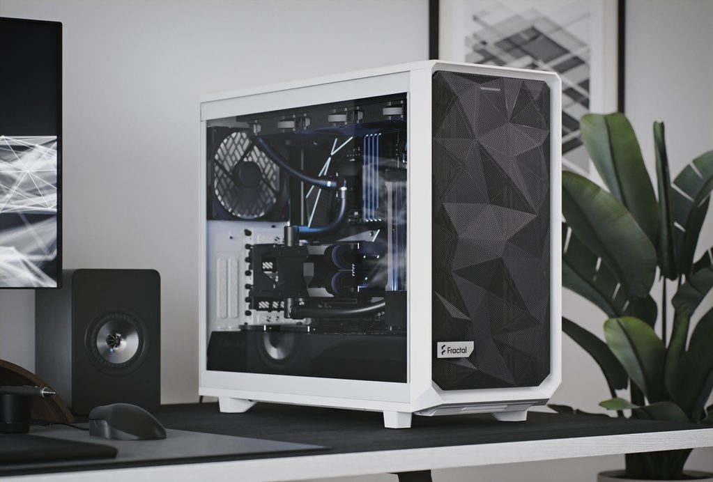 Picture of the Fractal Design Meshify 2, one of the best mid-tower cases as of now.