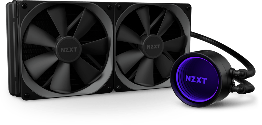 The NZXT Kraken X63, often considered an outstanding all-in-one (AIO) liquid cooler for CPUs.