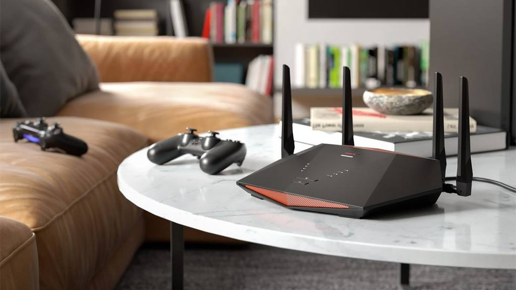 Picture of the Netgear Nighthawk XR700 gaming router.