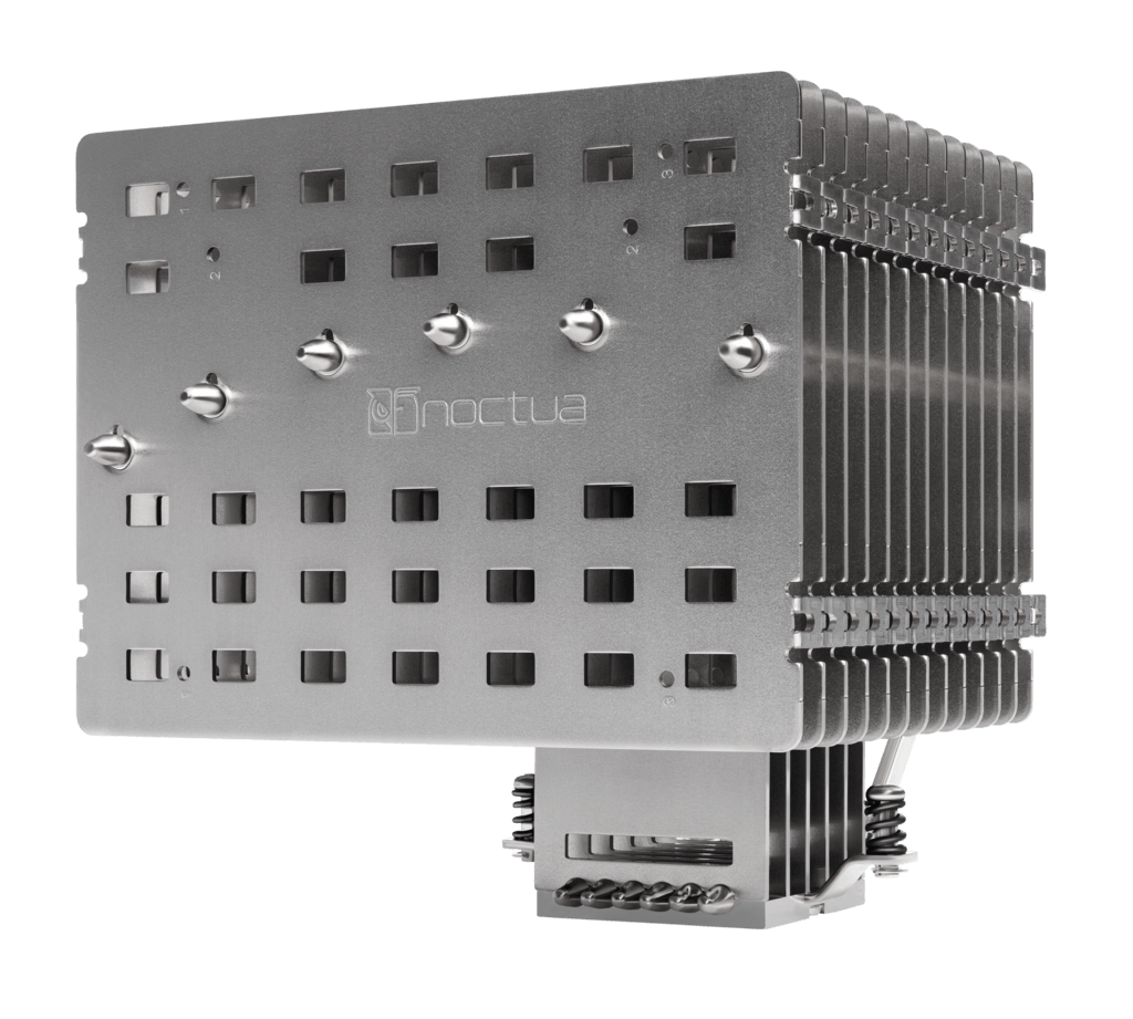 Product photo of the Noctua NH-P1 fanless CPU cooler.